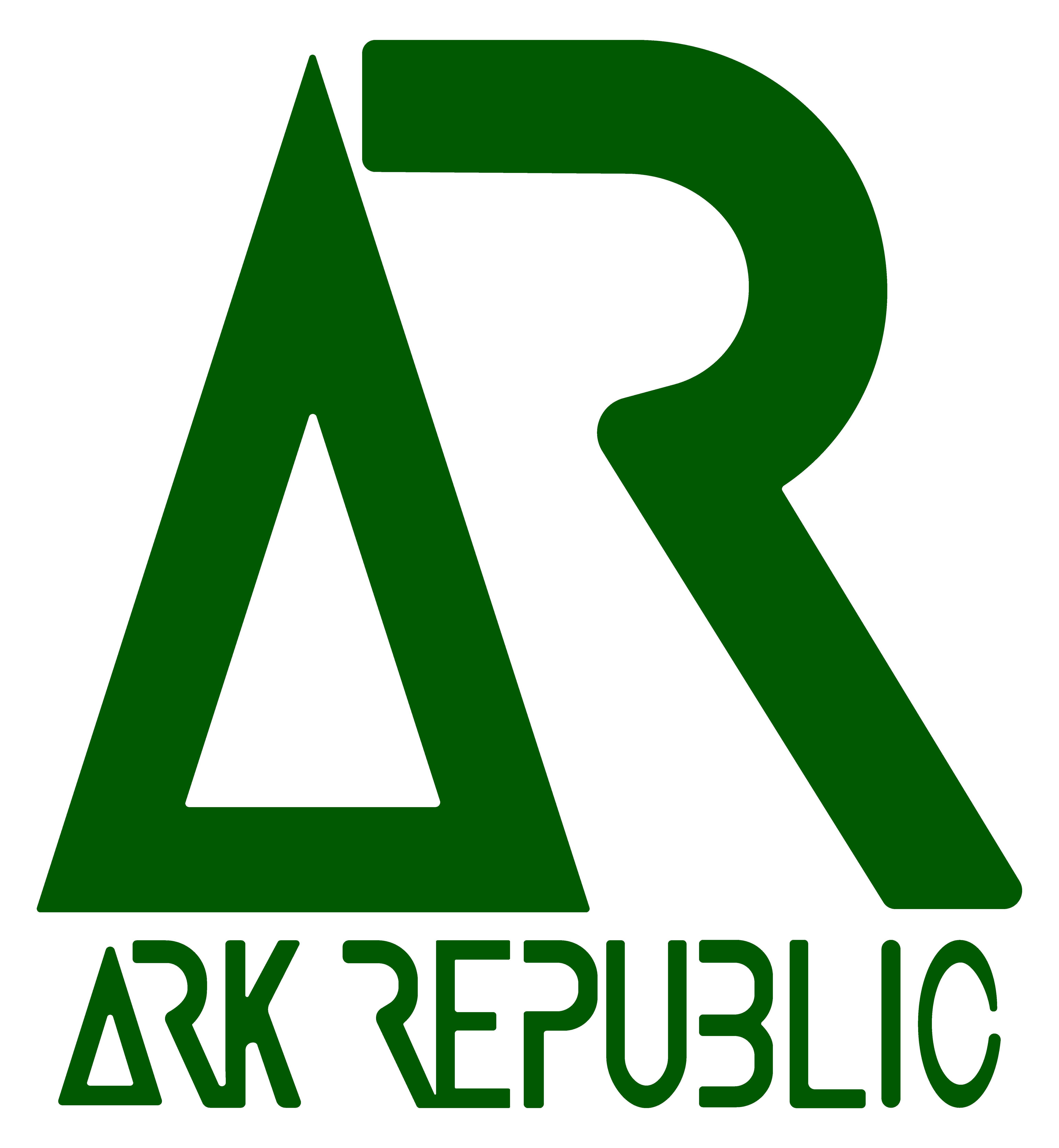 Logo Ark Republic logo green 2 VECTOR-01